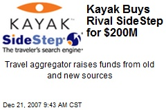 Kayak Buys Rival SideStep for $200M