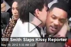 Will Smith Slaps Kissy Reporter