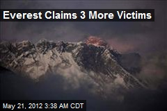 3 Everest Climbers Die, 2 Missing