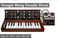 Wow Google Moog Doodle Honors Synth Pioneer