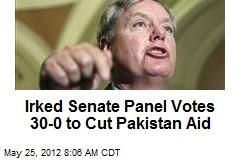 Irked Senate Panel Votes 30-0 to Cut Pakistan Aid