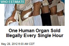 One Human Organ Sold Illegally Every Single Hour