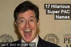 17 Hilarious Super PAC Names
