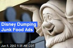 Disney Dumping Junk Food Ads