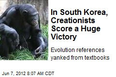 Creationists Score Big Victory in South Korea