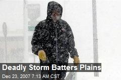 Deadly Storm Batters Plains