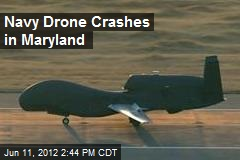 Navy Drone Crashes in Maryland