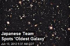 Japanese Team Spots 'Oldest Galaxy'