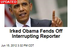 Irked Obama Defends Immigration Move