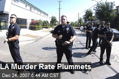 LA Murder Rate Plummets