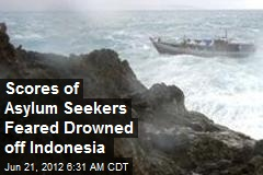 Scores of Asylum Seekers Feared Drowned off Indonesia