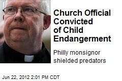 Church Official Convicted of Child Endangerment