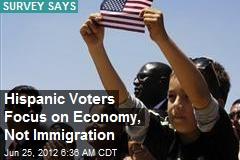 Hispanic Voters Focus on Economy, Not Immigration