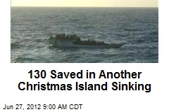 130 Saved in Another Christmas Island Sinking
