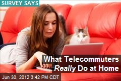 What Telecommuters Really Do at Home