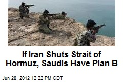 If Iran Shuts Strait of Hormuz, Saudis Have Plan B