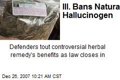 Ill. Bans Natural Hallucinogen