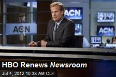 HBO Renews Newsroom