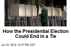How the Presidential Election Could End in a Tie