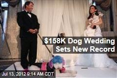 $158K Dog Wedding Sets New Record