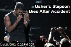 Usher's Stepson Dies After Accident