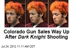 Colorado Gun Sales Way Up After Dark Knight Shooting