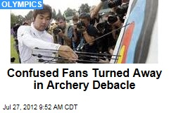 Confused Fans Turned Away in Archery Debacle