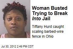 Woman Busted Trying to Break Into Jail