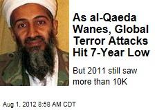 As al-Qaeda Wanes, Global Terror Attacks Hit 7-Year Low