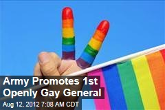 Army Promotes 1st Openly Gay General
