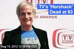 TV's 'Horshack' Dead at 63