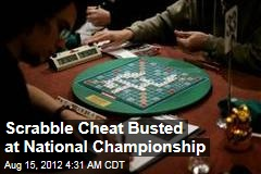 Scrabble Cheat Booted From US Tournament