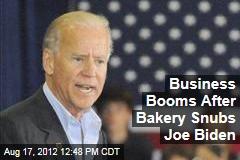 Business Booms After Bakery Snubs Joe Biden
