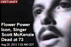 Flower Power Icon, Singer Scott McKenzie Dead at 73
