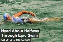 Nyad About Halfway Through Epic Swim