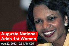 Augusta National Adds 1st Women