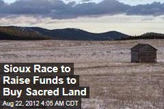 Sioux Race to Raise Funds to Buy Sacred Land
