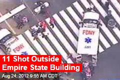People Shot Outside Empire State Building