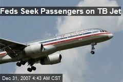 Feds Seek Passengers on TB Jet