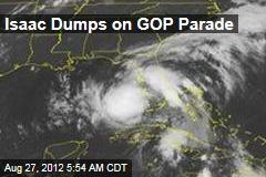 Isaac Dumps on GOP Parade