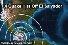 7.4 Quake Off El Salvador Triggers Tsunami Alert