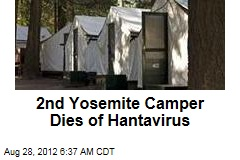 Second Yosemite Camper Dies of Hantavirus