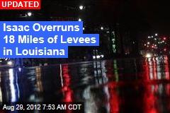 Isaac Makes Second Landfall in Louisiana