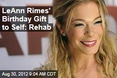 LeAnn Rimes Being Treated for Anxiety, Stress