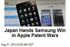 Japan Hands Samsung Win in Apple Patent Wars