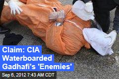 New CIA Waterboarding Charges Surface