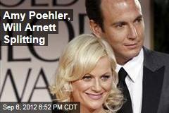 Amy Poehler, Will Arnett Splitting