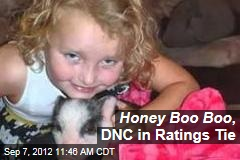 Honey Boo Boo , DNC in Ratings Tie