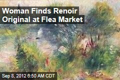 Woman Finds Renoir Original at Flea Market