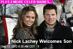 Nick Lachey Welcomes Son